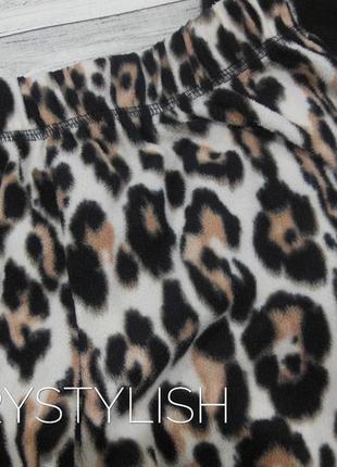 Флисовая мягонькая пижама в актуальный леопардовый принт, моя любовь ❤2