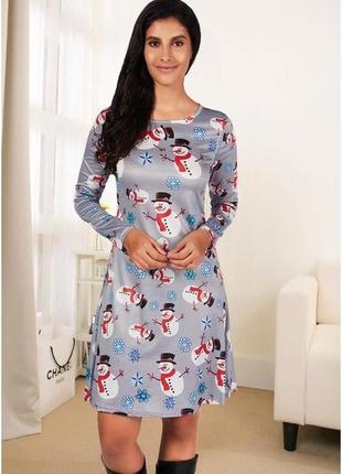 Симпатичное платьице с новогодней тематикой от misslook2