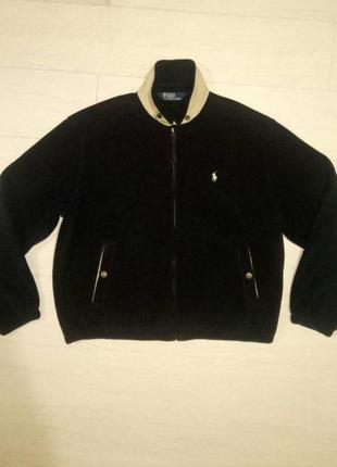 Куртка флисовая ralph lauren