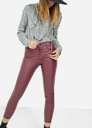 Стильные вощенные штаны