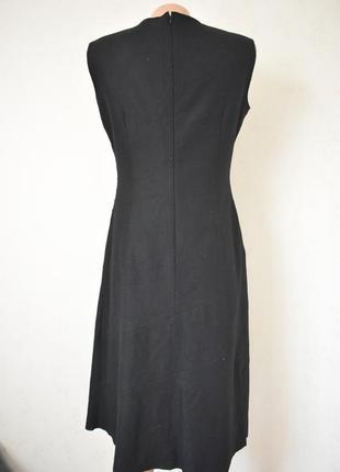 Теплое шерстяное элегантное платье3