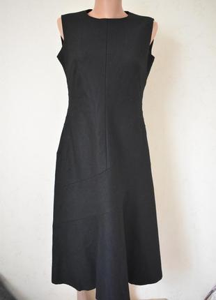 Теплое шерстяное элегантное платье1