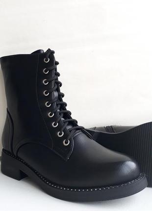 Акція! жіночі зимові напівчобітки (полусапожки, ботинки) розмір 36, 37.