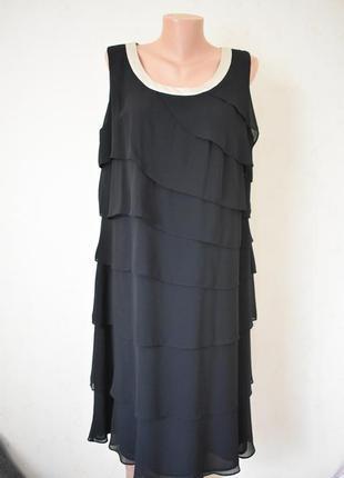 Красивое платье большого размера jacques vert1