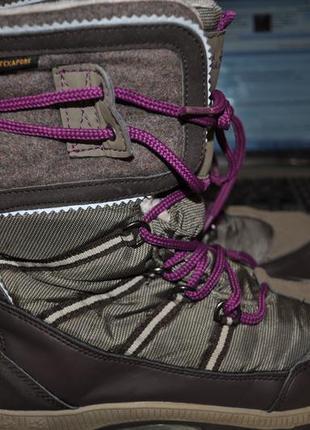 Ботинки шикарные тэрмо-tex зима jack wolfskin  оригинал