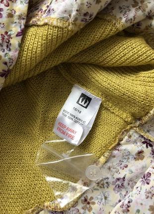 Стильный свитер с блузой обманкой4