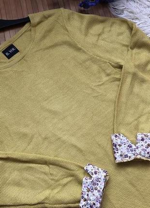 Стильный свитер с блузой обманкой3