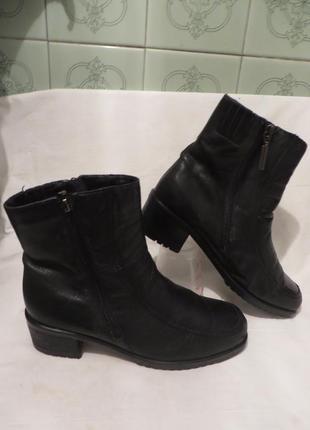 Ботинки кожа германия medicus 38 размер4