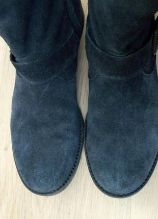 Полусапожки ботинки демисезонные замшевые кожаные на низком bagatto р. 39-40 (26 стелька)3