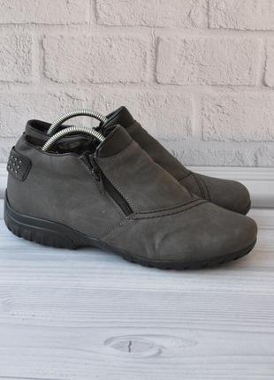 Зимние ботинки rieker 40р 25,5см идеал