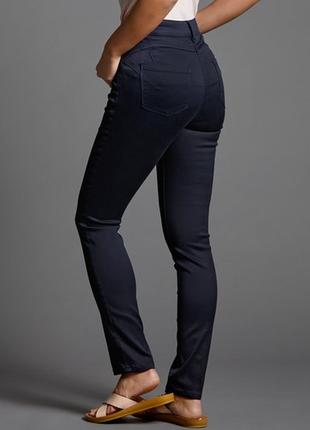 Тёмно синие джинсы брюки