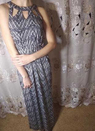 Длиннле платье , сараыан new look.