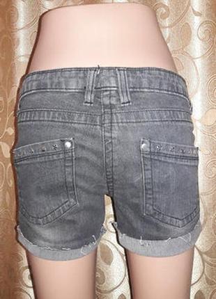 Стильные короткие джинсовые шорты new look4