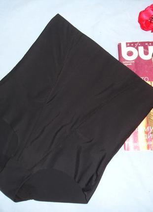 Нижнее белье женские трусы трусики плавки размер 48-50 / 16 с утяжкой черные утягивающие1