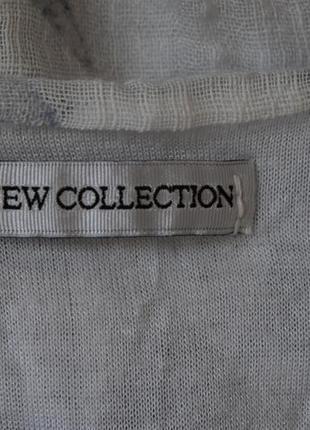 Натуральная итальянская блуза с принтом большого размера5