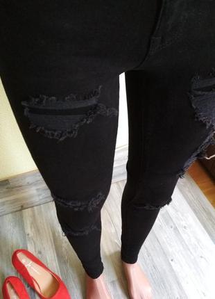 Стильные джинсы скинни2