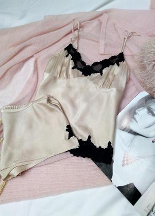 Пижама 💯шелк р м