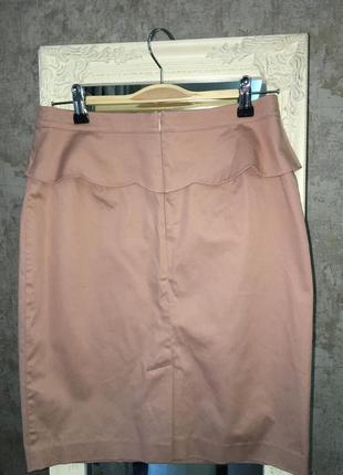 Нюдовая юбка5