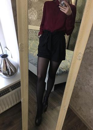Юбка шорты на поясе2