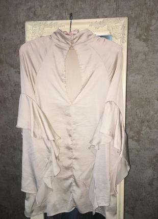 Блузка с рюшей4
