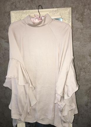 Блузка с рюшей5