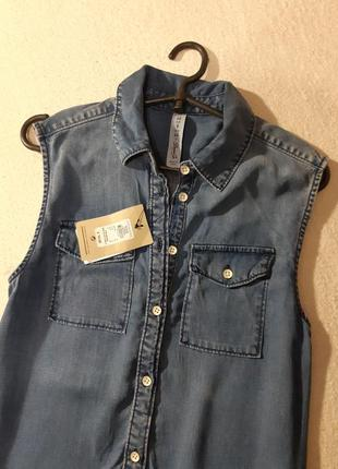Красивое джинсовое платье. размер l3