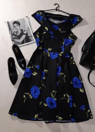 Красивая котоновое платье. размер xl-xxl1