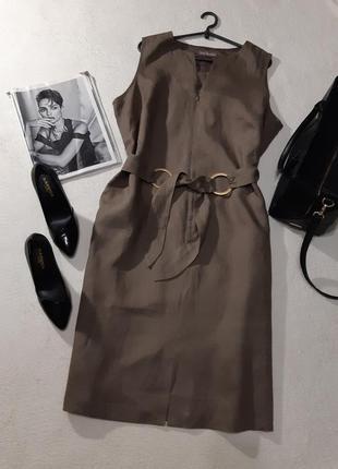 100% льон платье. размер 3xl1