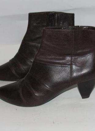 Roberto santi_португалия кожа шикарные стильные качественные ботинки 36р ст.23,5см m21