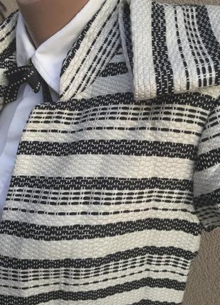 Фактурное пальто,кардиган,удлиненный жакет,пиджак без застежки,h&m,3