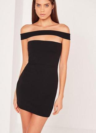 Шикарное маленькое чёрное платье от missguided