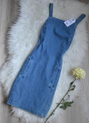 Новый джинсовый сарафан miss selfridge1