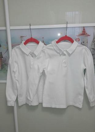 Школьные рубашки поло george комплект 7-8 лет