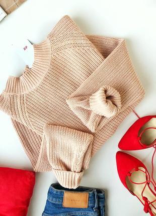 Стильный свитер с замком на всю спинку h&m1