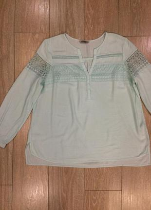 Блуза с кружевом marks&spencer4