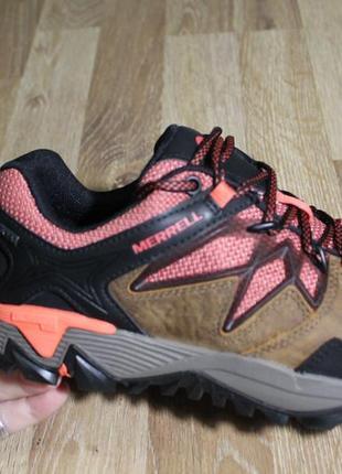 Шикарні кросівки - черевики merrell з gore-tex та підошвою vibram ботинки2