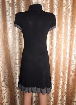 Стильное трикотажное платье с коротким рукавом apricot2