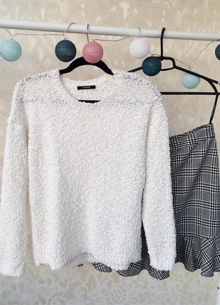 Классный плюшевый свитер george