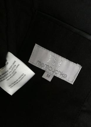 Куртка парка  momouchka с воротником из натурального меха5