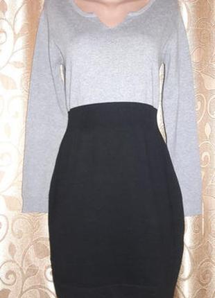 Стильное трикотажное платье mango2