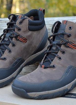 ddf30acc Оригинал clarks ботинки коричневые мужские men's wallbeck top chukka boot