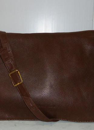 Мужская стильная сумка через плечо бренда plinio visona