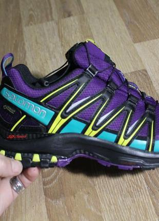 Дуже круті кросівки salomon з gore-tex та ortholite2