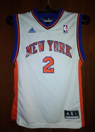 Майка баскетбольная adidas адидас new york knicks nba