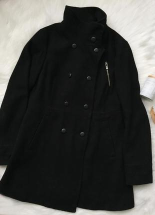Пальто bershka, пальто, черное пальто, bershka