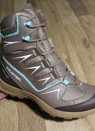 Шикарні черевички salomon waterproof ботинки сапоги  37, 38, 39, 40, 41, 423