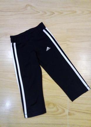 Adidas спортивные бриджи на 7-8 л