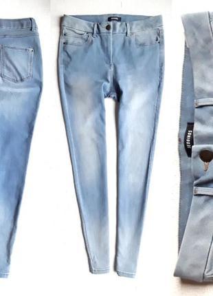 Стрейчевые джинсы с высокой посадкой от marks and spencer