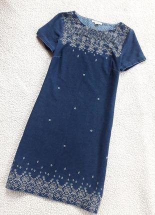 Платье с вышивкой1
