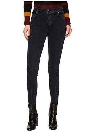 Made & crafted levi's 'sliver zip atom' high skinny jeans w31